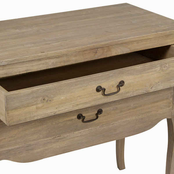 Hallway table with 2 drawers - Pure Life Collection by Craften Wood