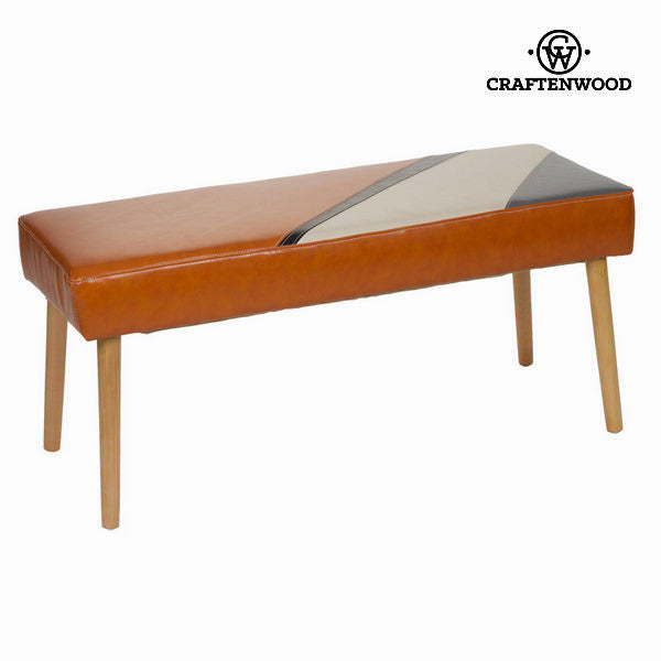 Archie upholstered bench by Craften Wood