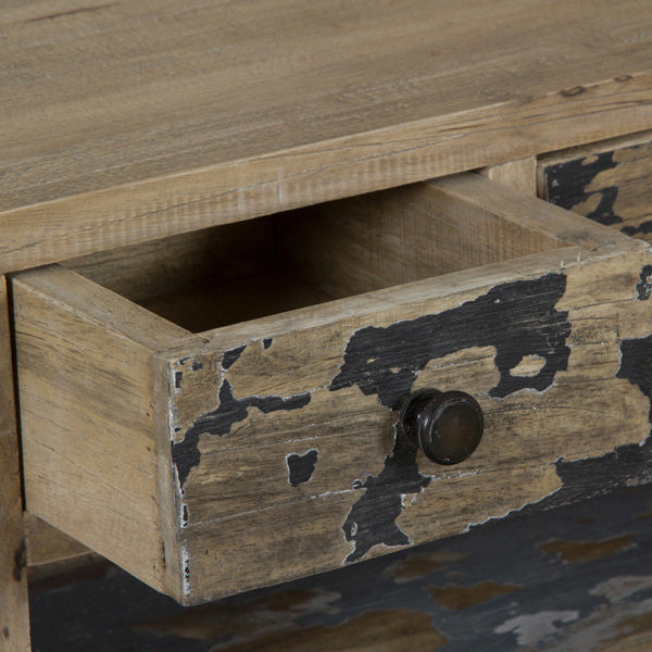 Pickling wood desk - Poetic Collection by Craften Wood