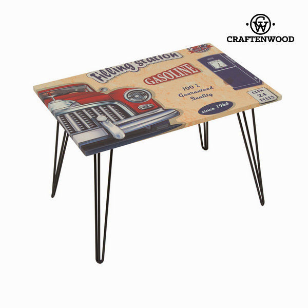 Centre table with red car design by Craften Wood