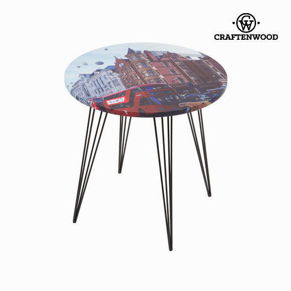 Round centre table with london design by Craften Wood
