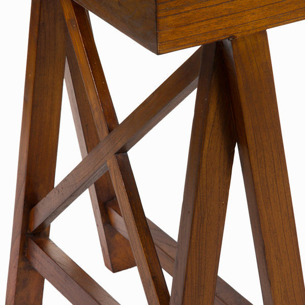 Cross leg side table  - Serious Line Collection by Craften Wood