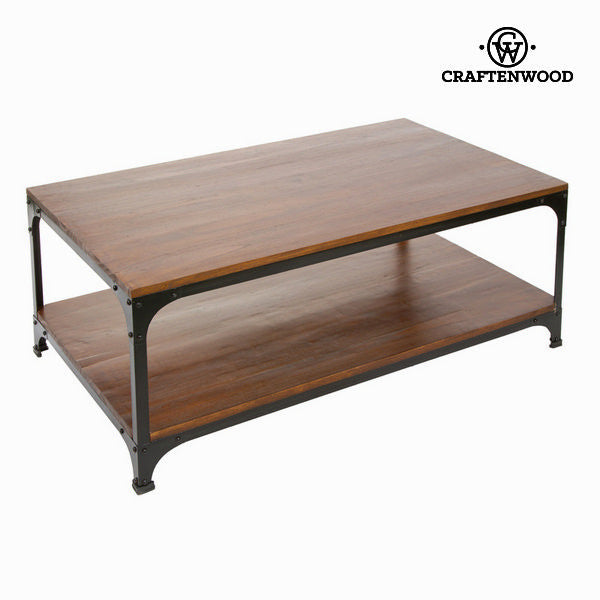 Wood and metal coffee table - Franklin Collection by Craften Wood