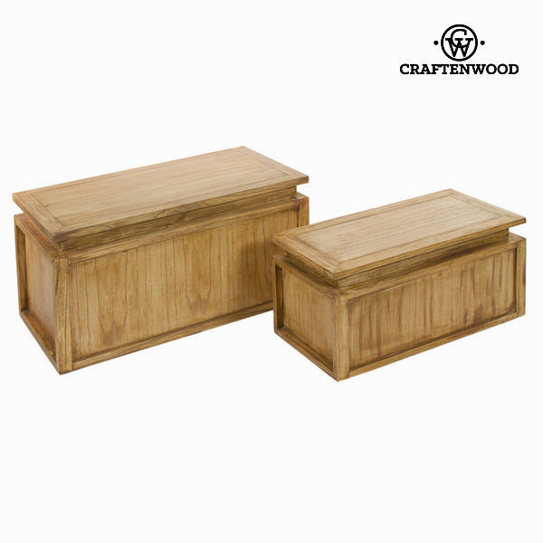 Set of 2 stroage chests ios - Village Collection by Craften Wood