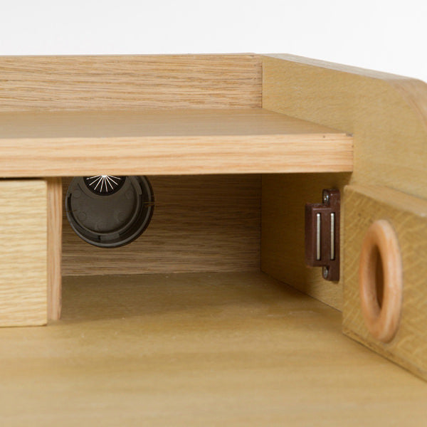 Wood bureau 4 drawers - Modern Collection by Craften Wood