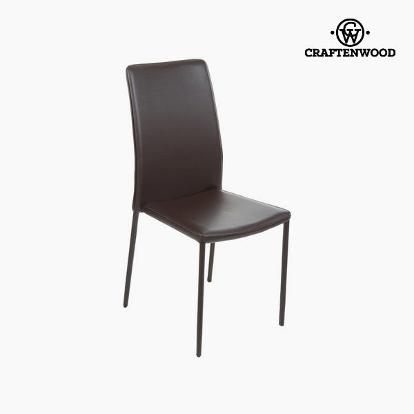 Brown pvc chair by Craftenwood