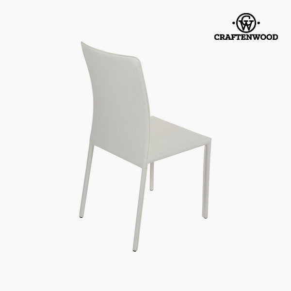 White pvc chair by Craftenwood
