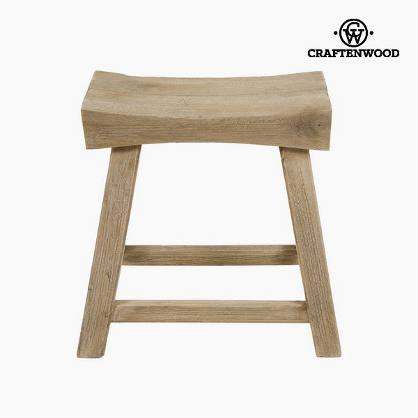 Levi wooden stool by Craftenwood
