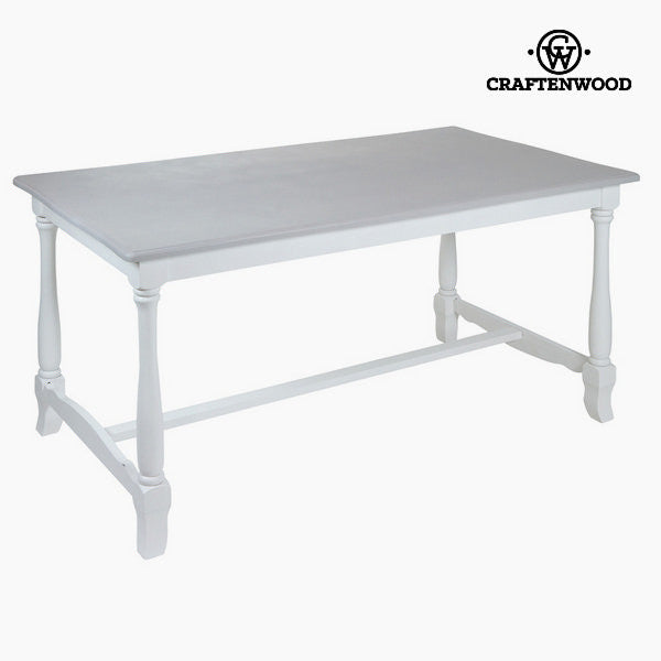 White dining table altea by Craftenwood