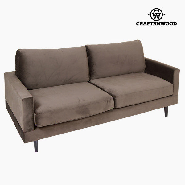 Large two seater sofa gray cos by Craftenwood