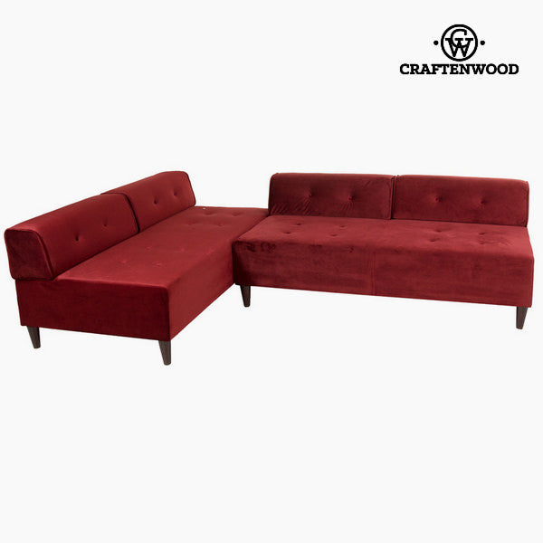Chaise lounge ceos bordeaux by Craftenwood