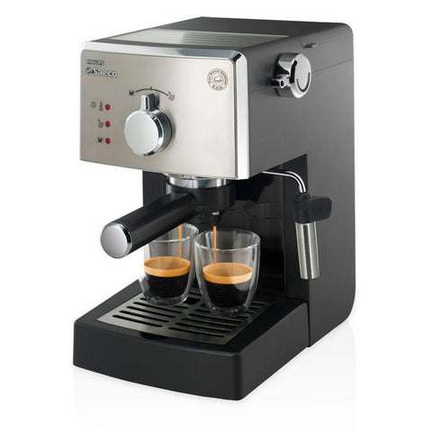 Hurtig manuel kaffemaskine Philips HD8425/11 Saeco Poemia 15 bar 1,25 L 950W Sort Rustfrit stål