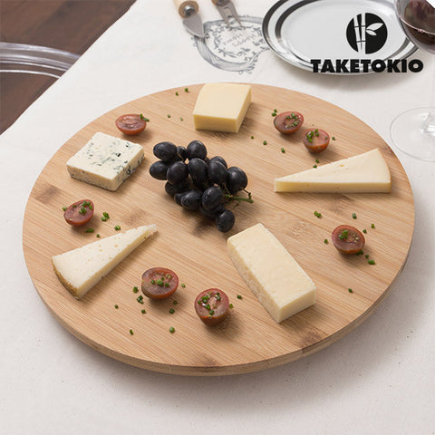 Bamboo Rotating Board TakeTokio