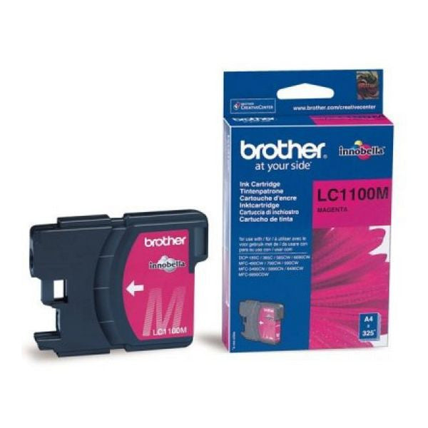 Brother LC1100M Magenta Ink cartidge DCP385/585/MF4