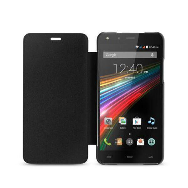 Energy Phone Cover PRO HD Cover with Flap Black