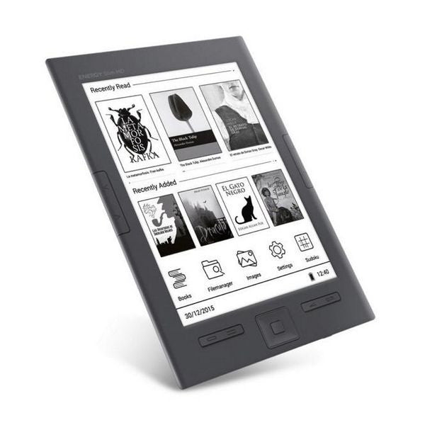 Energy System ebook eReader Slim HD 6'' Black
