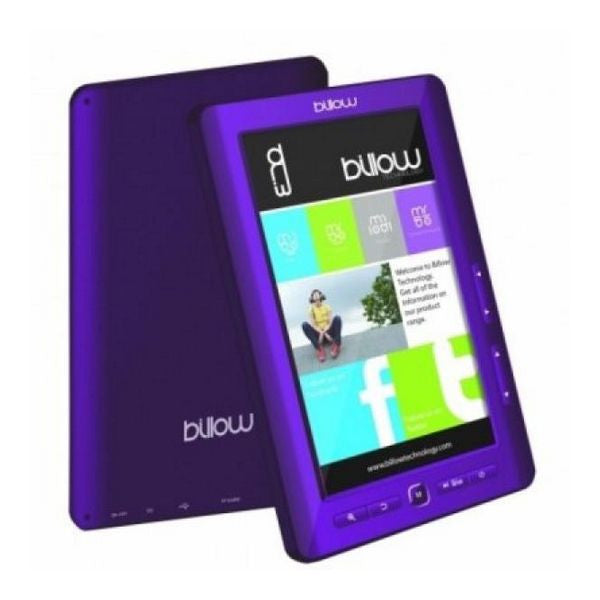 Billow E2TP colour eBook reader 7'' 4GB Purple