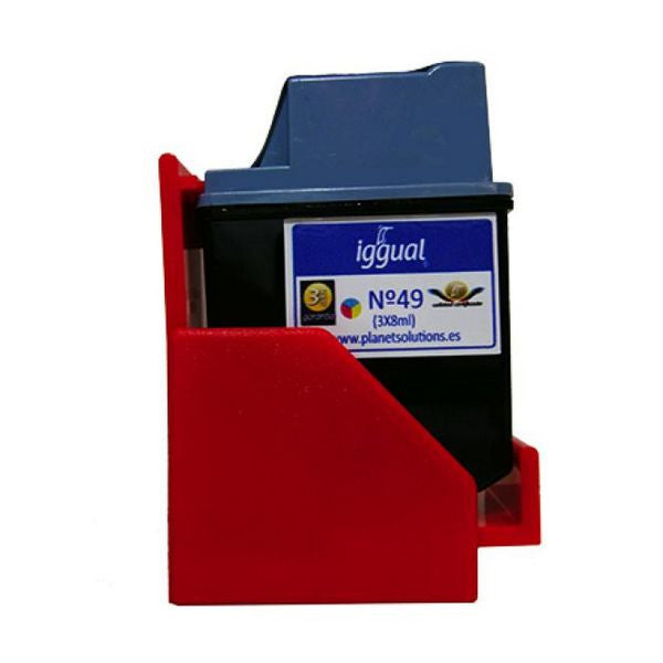 iggual Recycled Ink Cartridge HP Nº 49 51649A colour