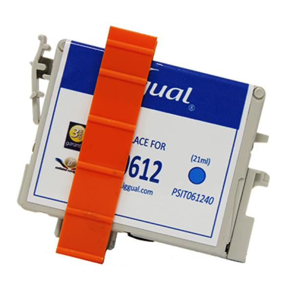 iggual Recycled Ink Cartridge Epson T0612 Blue