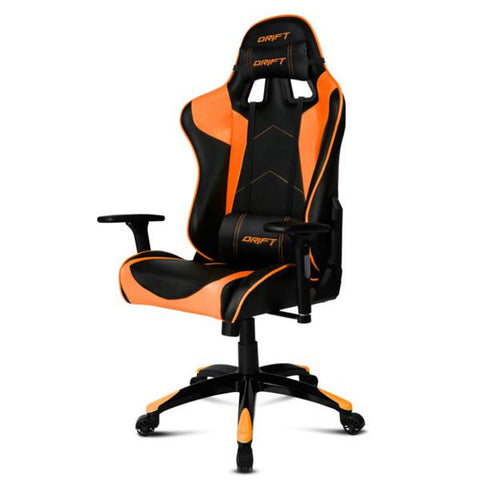 Gaming-stol DRIFT DR300BO 90-160º Skum Sort Orange