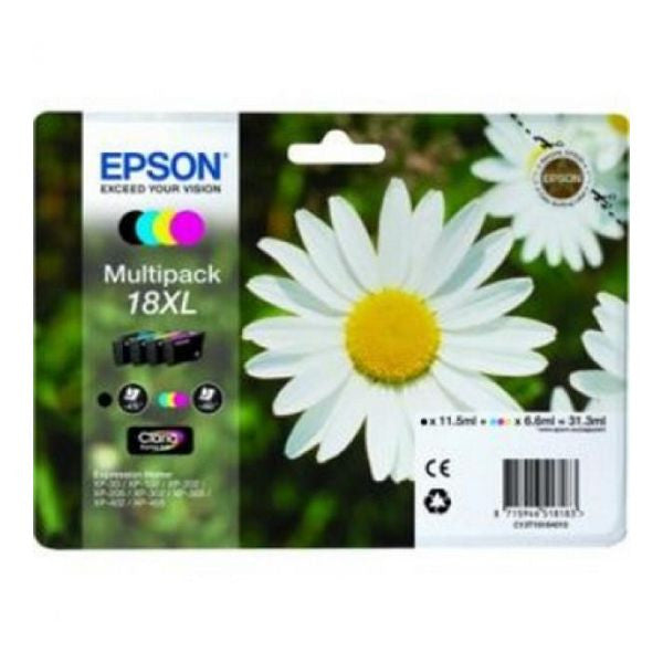 EPSON Multipack Ink CartridgeT18XL XP225/322/422