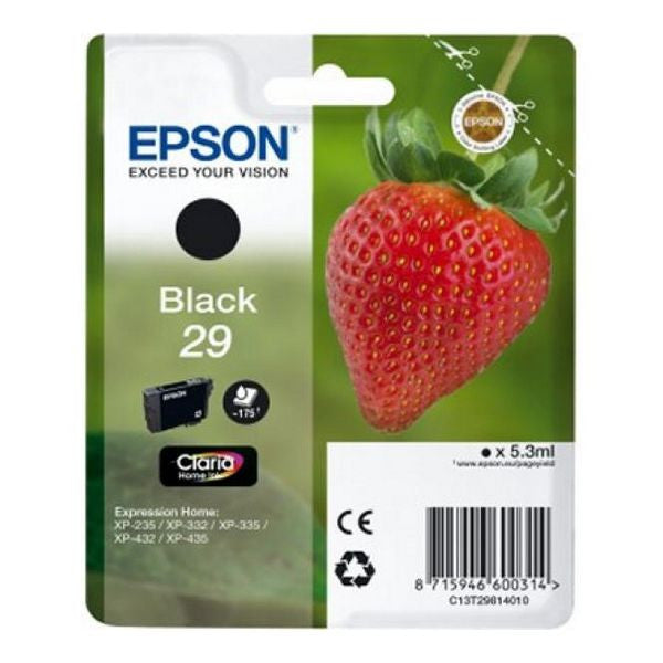EPSON T2981 Black Ink Cartridge XP235/332/432