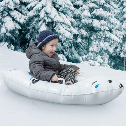 Polar Bear Inflatable Snow Boogie Sled