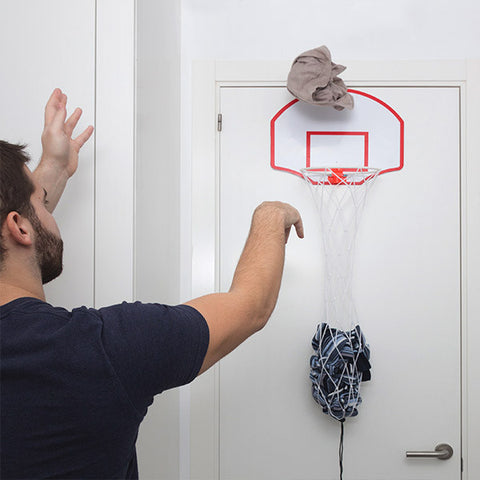 Basketball Hoop Laundry Basket