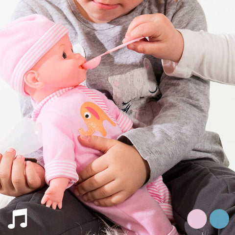 Baby Doll With Sounds and Accessories