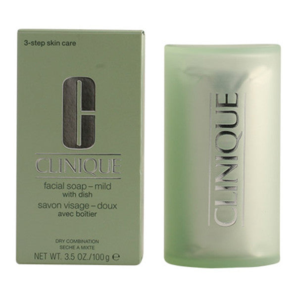 Clinique - FACIAL SOAP mild with dish 100 gr