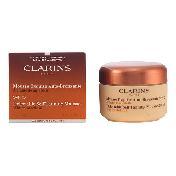 Clarins - SUN mousse exquise auto-bronzante 125 ml