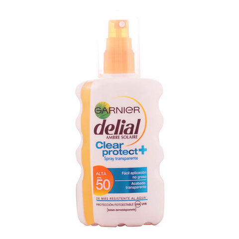 Delial - DELIAL CLEAR PROTECT spray transparente SPF50+ 200 ml