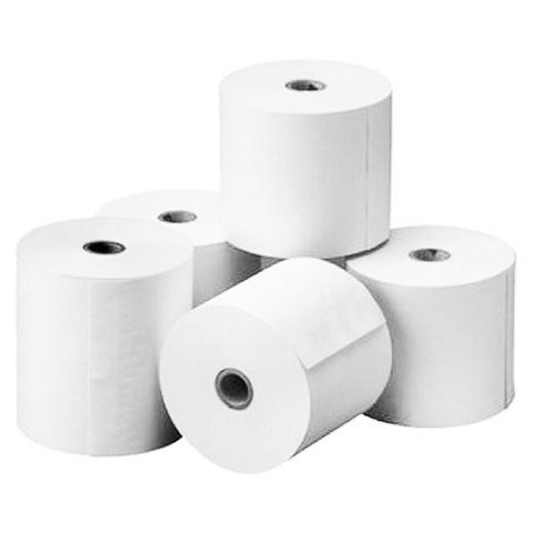 PAPER ROLL FOR THERMAL PAPER 80X80X12 MM PACK 5 UNITS