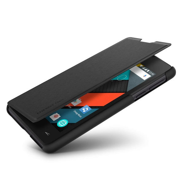 Energy Phone Cover Neo Lite Cover with Flap Black