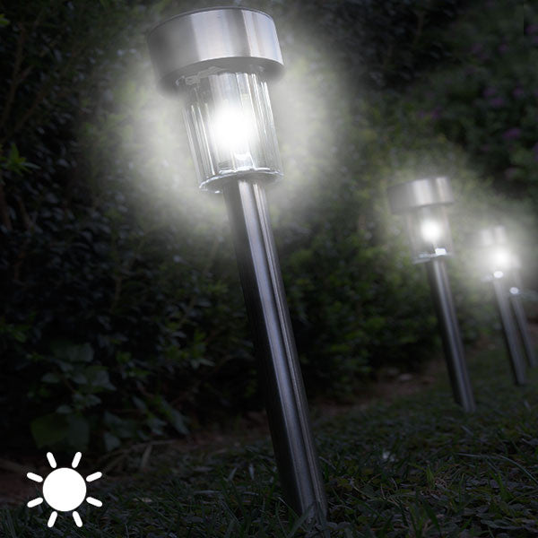 Circular Solar Garden Torch (pack of 5)
