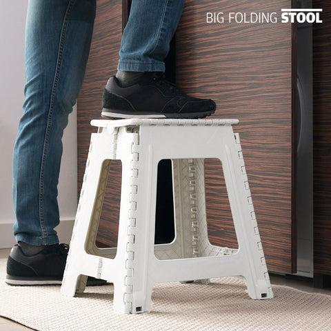 Big Folding Stool Sammenklappelig Stol