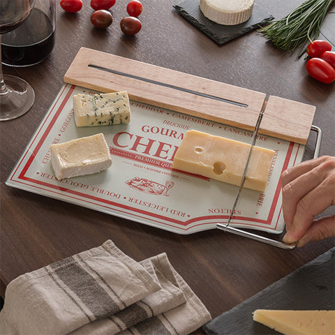 Kitchen Board with Cheese Slicer