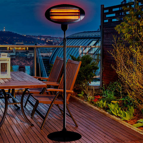 Outdoor Heater with Stand
