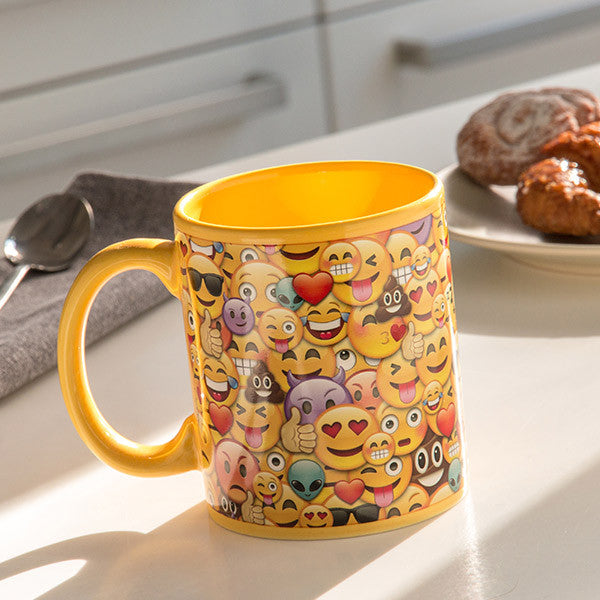 Collage Emoticons Mug