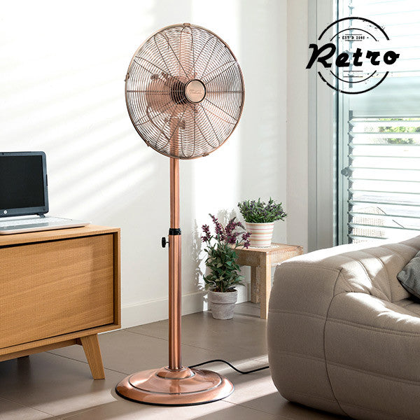 Tristar VE5971 Retro Metal Standing Fan