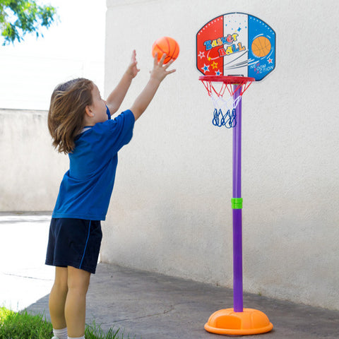 Children's Basketball Hoop with Stand