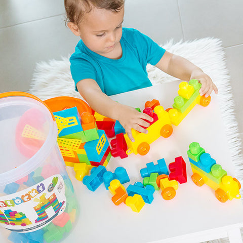 Building Blocks Game (107 pieces)