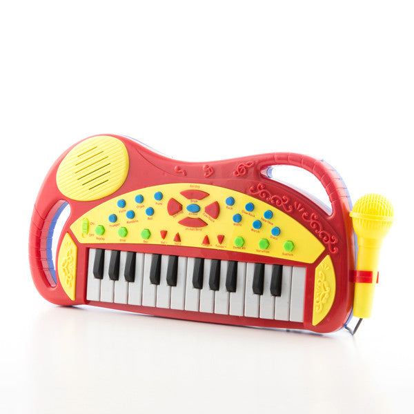 Children's Electronic Keyboard with Microphone