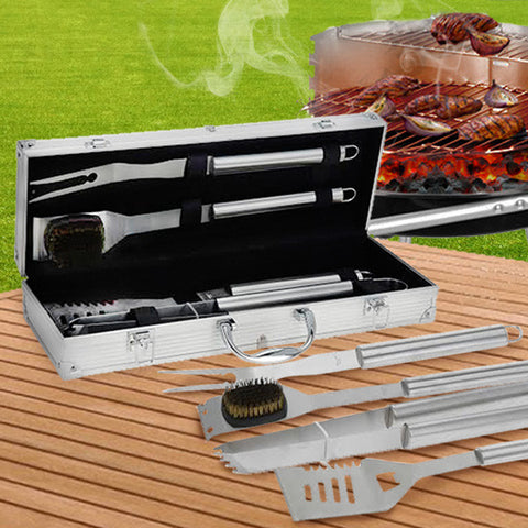 BBQ Accessories Carrying Case (4 pieces)