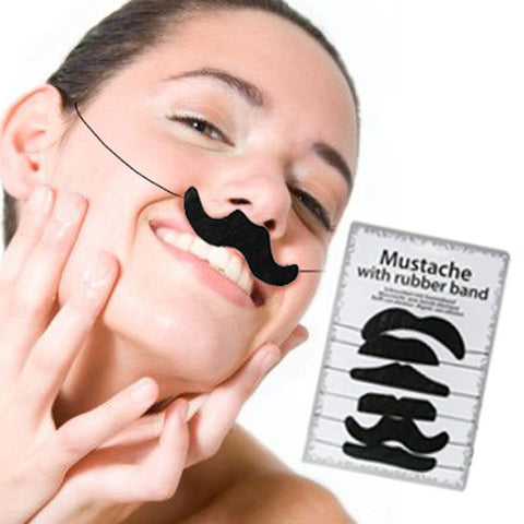Fake Moustaches (pack of 6)