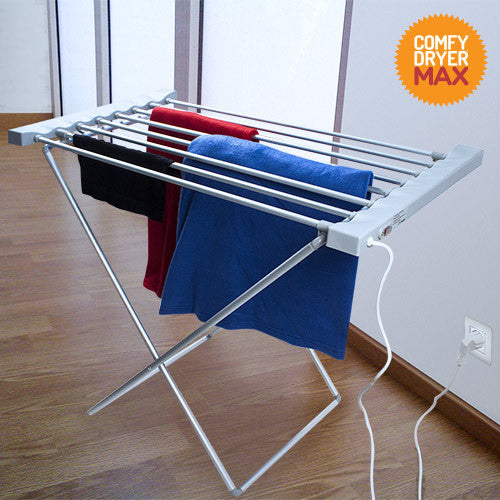 Comfy Dryer Max Electric Clothes Horse (8 Bars)