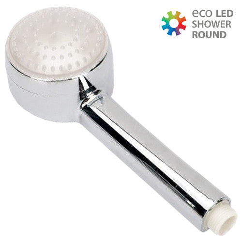 Rundt Eco LED Bruserhoved