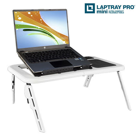 Laptray Pro Mini Laptop Table with Fan