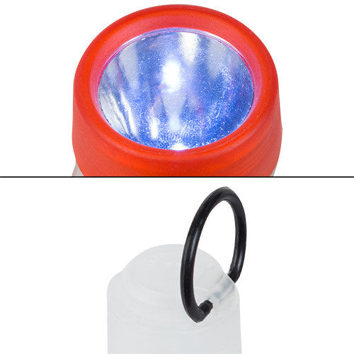 LED Torch with Coloured Head