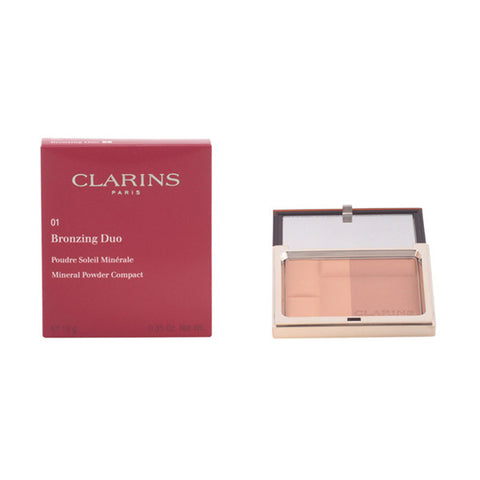 Clarins - BRONZING DUO 01-light 10 gr